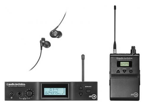 AUDIO TECHNICA M3 IEM SYSTEM E-BAND