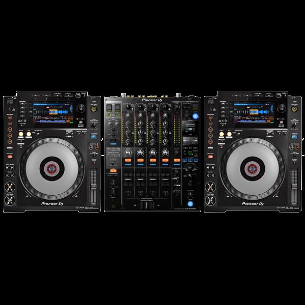 Pioneer 900 NXS2 Set - 1x DJM-900 NXS2, 2x CDJ-900 NXS