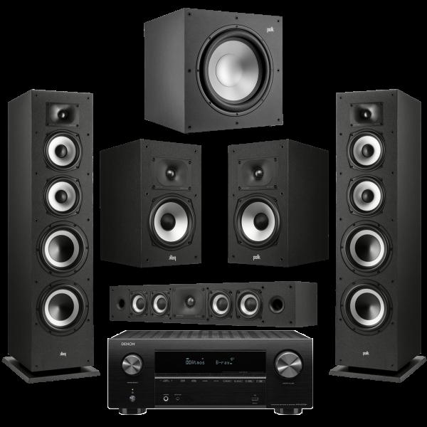 Polk Heimkino Set3 - XT70, XT20, XT12, XT35, AVR-X 2700H