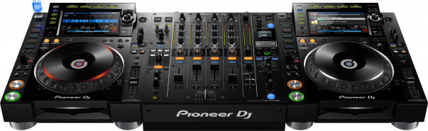 Pioneer NXS2 Set - 1x DJM-900 NXS2, 2x CDJ-2000 NXS2
