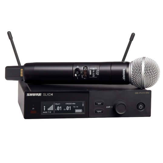 Shure SLXD24E/SM58 S50