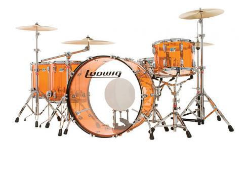 Ludwig Drums Vistalite Amber