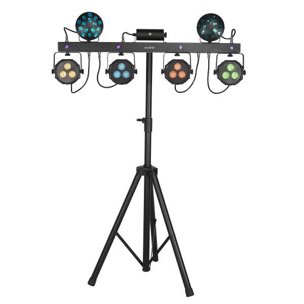 Eurolite Set LED KLS Laser Bar Next FX-Lichtset + M-4 Boxenhochständer