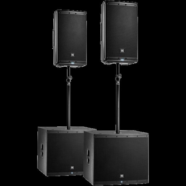 JBL EON615 System - EON615 + EON618S