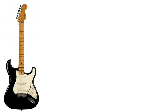 Fender Eric Johnson Strat Maple Black