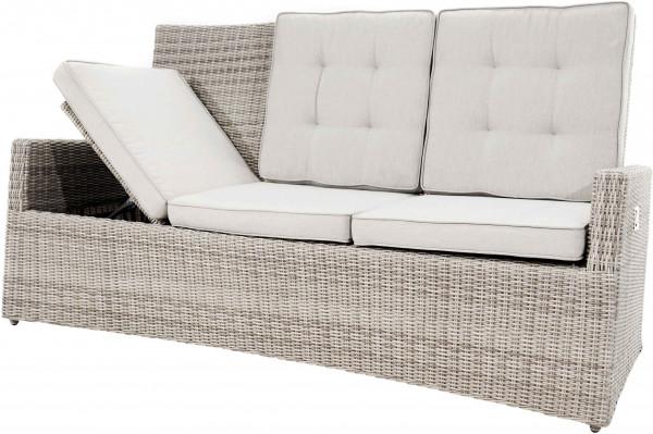 Ploß 3-Sitzer Speise-/Lounge-Sofa SAHARA COMFORT