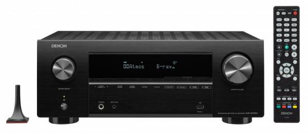 Denon AV Receiver AVR-X 2700H DAB Schwarz