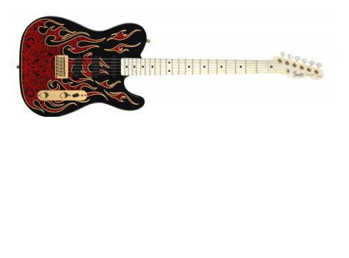 Fender James Burton Tele MN RPF