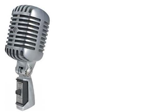 Shure SH-55 Serie II dynamisches Gesangs-Mikrofon