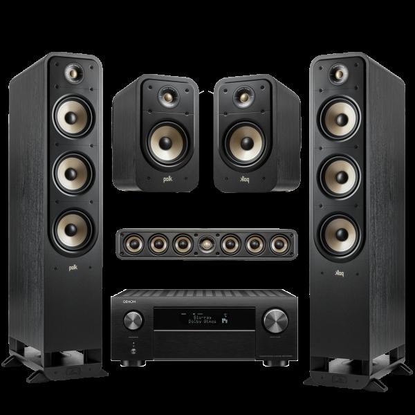 Denon Heimkino Set2 schwarz - AVC-X 4700H, ES20, ES35, ES60