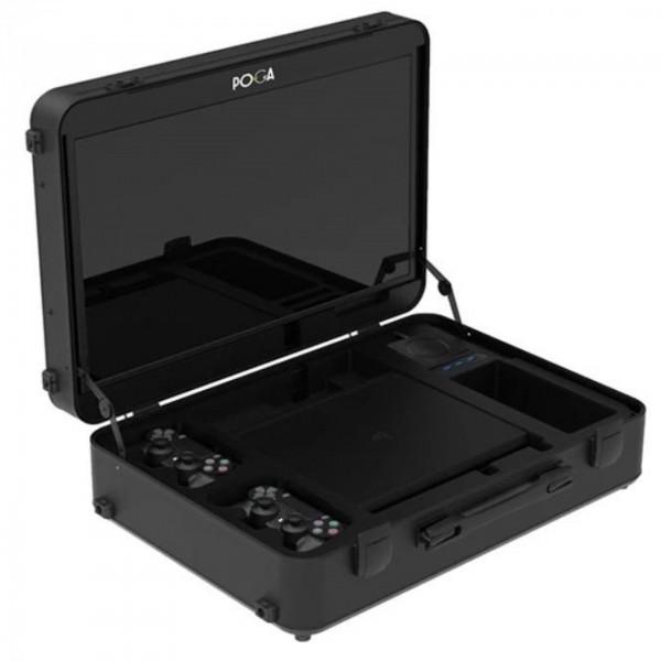 Indi Gaming POGA Pro Black inkl Console